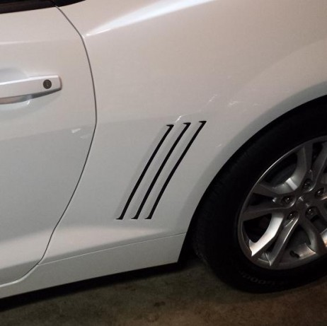 Chevrolet Chevy Camaro Gills Decal 2010-2015
