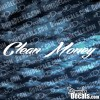 Clean Money decal