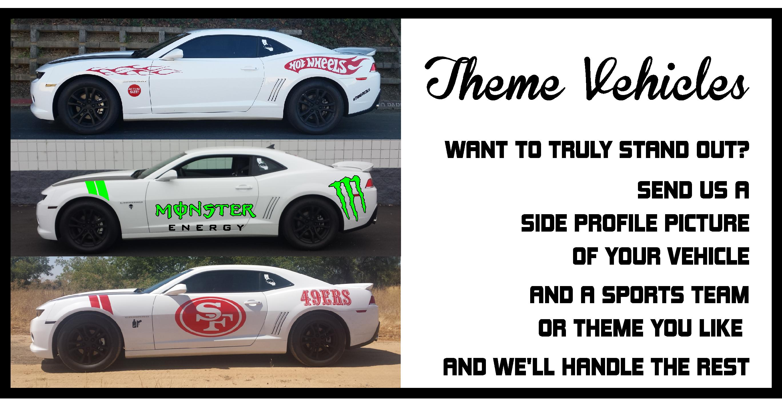 Banner Slider car theme Camaro