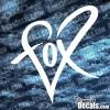 Fox Heart Decal