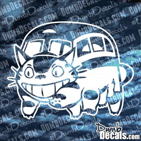 Ghibli Totoro Catbus Decal