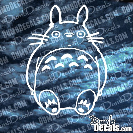Ghibli Totoro Full Body Decal