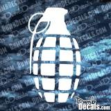 Grenade Decal