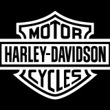 Harley Davidson Shield Decal