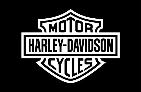 Harley Davidson Shield Decal