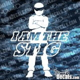 I Am The Stig Top Gear Decal