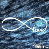 Infinity Love Decal