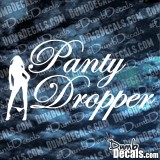 Panty Dropper Full Girl Decal