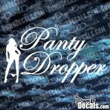 Panty Dropper Full Girl Decal