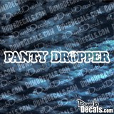 Panty Dropper one line Decal