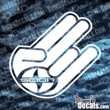 Shocker Scion Decal funny