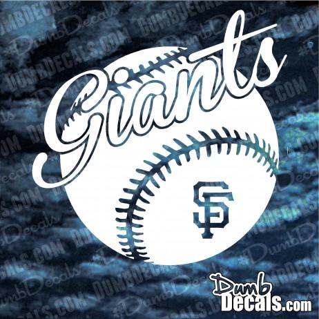 San Francisco Giants with Baseball Decal