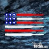 American Flag Bullets Decal red white blue