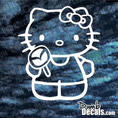 Hello Kitty Mazda Decal