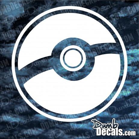 Pokeball Decal Pokemon GO