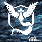 TEAM MYSTIC (BLUE ARTICUNO) Pokemon GO Decal