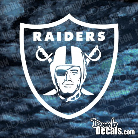 Oakland Raiders Decal