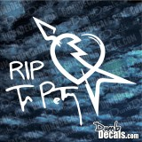 RIP Tom Petty Decal The Heartbreakers vinyl sticker rock legend Heart Breakers
