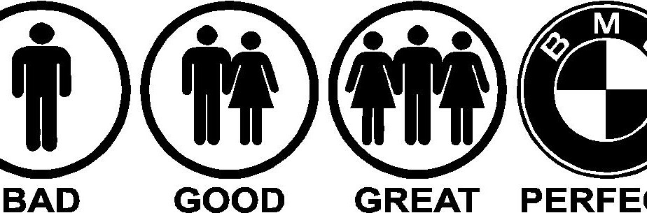 Bad Good Great Perfect Bmw Decal Dumbdecals Com
